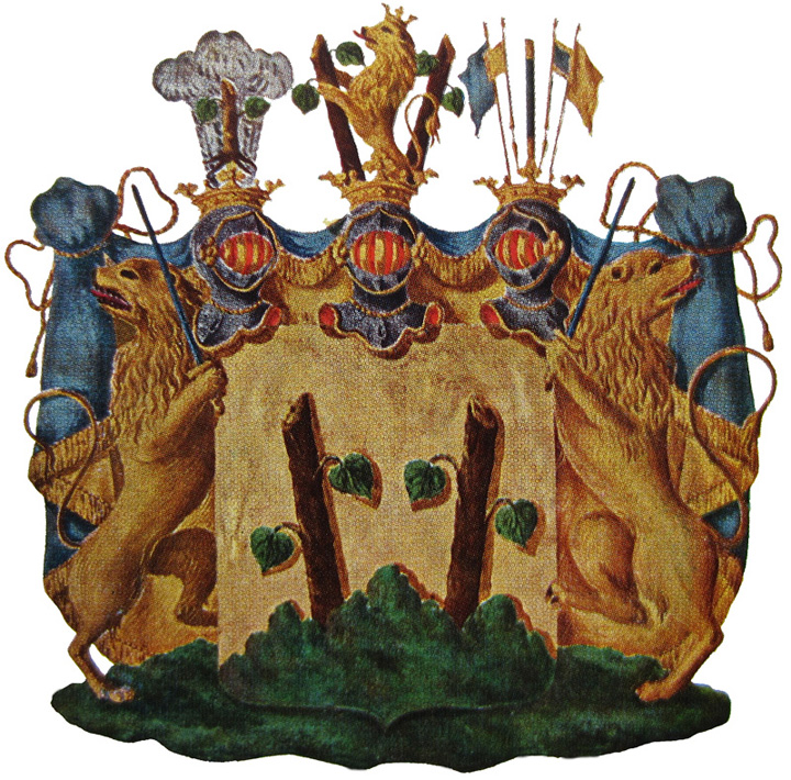 Coat of arms Graf Wolter Reinhold von Stackelberg