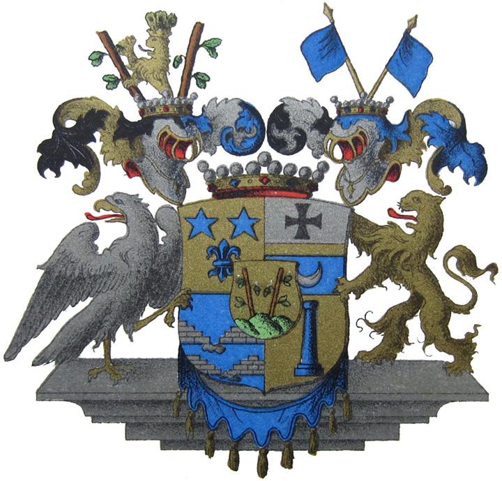 Wappen Freiherr Carl Adam von Stackelberg¹