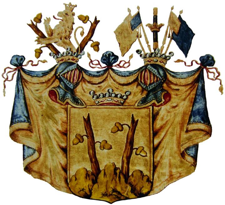 Wappen Freiherr Bernd Otto I. von Stackelberg²