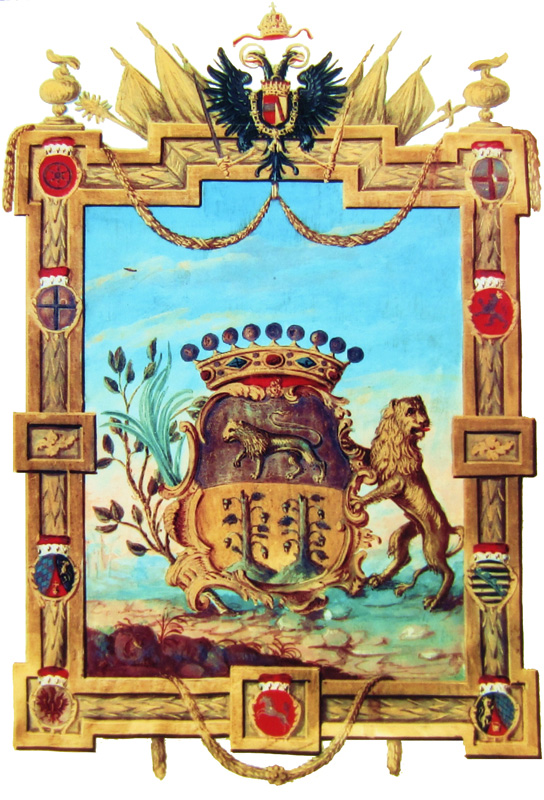Wappen Graf Otto Magnus von Stackelberg⁴